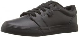 DC Men's Anvil Se Skateboarding Shoe, Black/Black/Black, 11 D D US