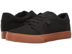 DC Men's Anvil Tx, Black/Black/Gum, 7.5 D US