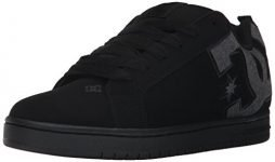 DC Men's Court Graffik SE Skate Shoe,Black Destroy Wash,11 D US