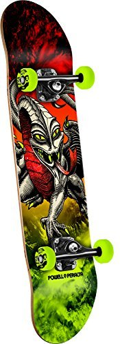Powell-Peralta Cab Dragon Storm Complete Skateboard, Red