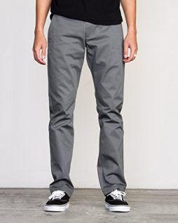 RVCA Men's The Weekend Stretch Pant, Smoke, 32