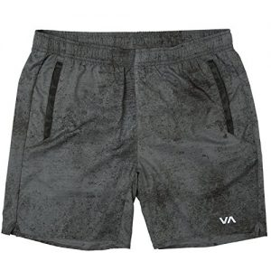 RVCA Men's Yogger Short, Smoke, M