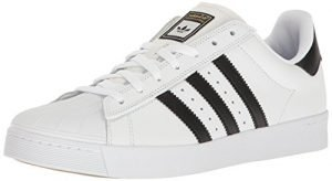 adidas Originals Men's Shoes | Superstar Vulc Adv, White/Core Black/White, (9.5 M US)