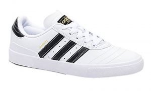 adidas Skateboarding Men's Busenitz Vulc Footwear White/Core Black/Gold Metallic 9 D US