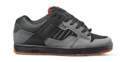 DVS Men's Enduro 125 Skate Shoe, Charcoal Black Nubuck, 12 Medium US