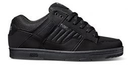 DVS Men's Enduro 125 Skate Shoes-10 Black Leather