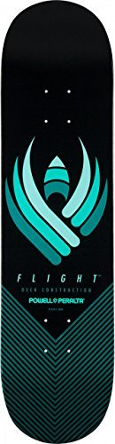 "Powell-Peralta Flight Skateboard Deck Shape 249 8.5"", Black"