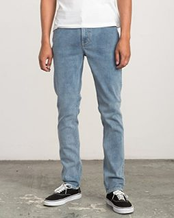 RVCA Men's Hexed Denim Jean