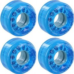 Ricta Wheels Crystal Clouds Blue Skateboard Wheels - 52mm 78a (Set of 4)