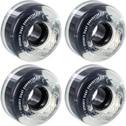 Ricta Wheels Crystal Clouds Clear Skateboard Wheels - 56mm 78a (Set of 4)