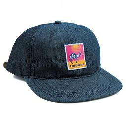 Gobi Patch Strapback Cap Denim