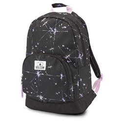 Volcom Junior's Schoolyard Poly Backpack, Blurred Violet, One Size Fits All