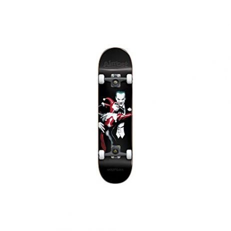 Almost Harley Quinn Resin Premium Skateboard Complete,7.75FU,Black