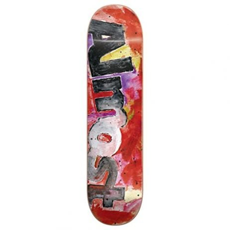 Almost Skateboard Deck Color Bleed Red 8.25″
