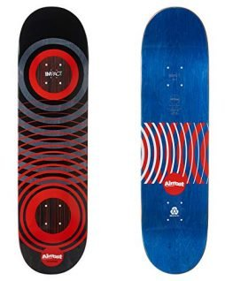 Almost Cooper Red Rings Impact Skateboard Deck