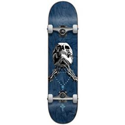 """Blind Tribute Roasary FP Premium Skateboard Complete,Blue,31.6"""" L X 8.0"""" W - 14.0"""" WB"""