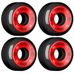 Bones Wheels 100'S #1 52x34 Black [V5] (New)