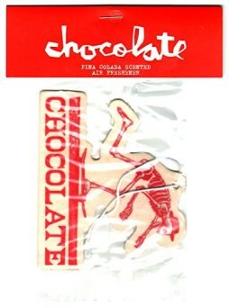Chocolate Skateboards Skateboard Air Freshener – El Chocolate – Red car Locker
