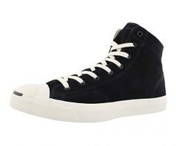 Converse Mens Jp Jack mid Hight Top Lace Up Fashion Sneakers