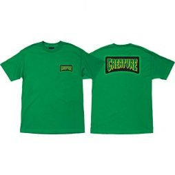 Creature Skateboards Aware Kelly Green Men's Short Sleeve T-Shirt – Large