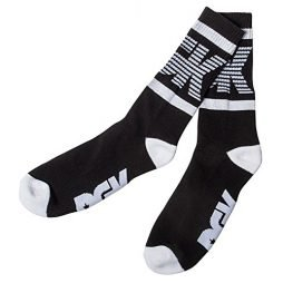 DGK Men's Balanced Crew Socks Black