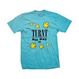 DGK Skateboard T-Shirt Turnt Pacific Blue Size M