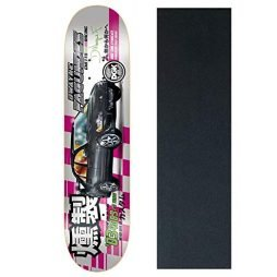 DGK Skateboards Deck Fagundes Tuner 8.1″ with Griptape