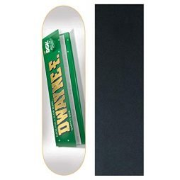 DGK Skateboards Deck Rolling Papers Fagundes 7.8″ with Griptape