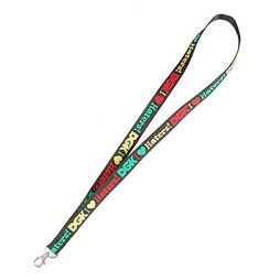 DGK Unisex I Love Haters Lanyard Black