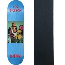 Deathwish Skateboards Deck Dickson The Pond 8.0″ x 31.5″ with Grip