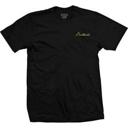 Deathwish Skateboards Script Black Men's Short Sleeve T-Shirt – Medium
