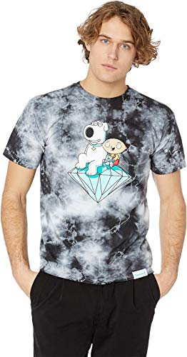 Diamond Supply Co. Men's Stewie and Brian Crystal Wash