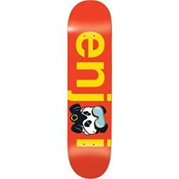 Enjoi No Brainer Gas Mask Deck 8.5″ x 32.3″ Red w/Free Mob Griptape