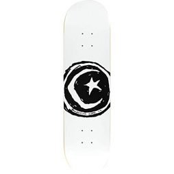 Foundation Skateboards Star and Moon White Skateboard Deck – 8.5″ x 32.375″