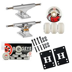 Independent 139mm Skateboard Trucks 52mm Spitfire Wheels, Bearings Package