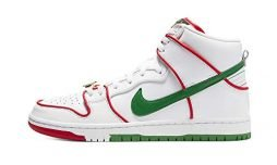 Nike Mens Sb Dunk High Paul Rodriguez – Mexican Boxing Ct6680 100 – Size