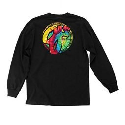 OJ Wheels Skateboard Longsleeve Shirt Trippy Juice Black Mens