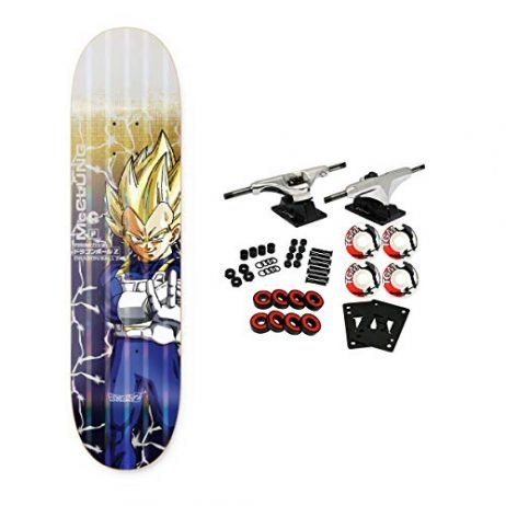 Primitive Dragon Ball Z Skateboard Complete McCling Vegeta Power Level 8.5″
