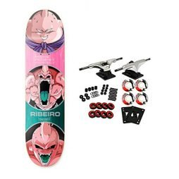 Primitive Dragon Ball Z Skateboard Complete Riberio Buu Forms 8.25″