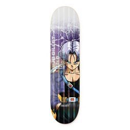 Primitive Dragon Ball Z Skateboard Deck Gillet Trunks Power Level 8.0″