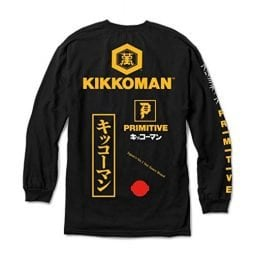 Primitive Kikkoman Season Long Sleeve (Black)