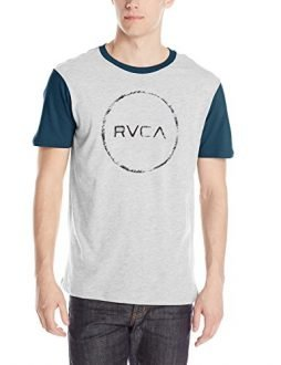RVCA Men's Circle Sketch Baseball T-Shirt
