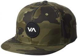 RVCA Men's Va Logo Patch Snapback Hat