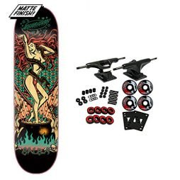"Santa Cruz Skateboard Complete Salba Witch Doctor Grand 8.6"" x 32.3"""