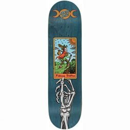 Santa Cruz Skateboards Deck Delfino Tarot Powerply 8.25″ x 31.83″