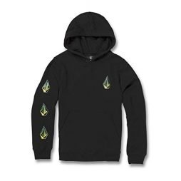 Volcom Big Boys Deadly Stones Pullover Hooded Sweatshirt