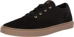 Volcom Men's Draw LO Suede Fashion Shoe Skate