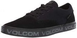Volcom Men's Draw Lo Suede Shoe Skate