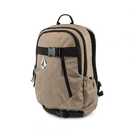 Volcom Young Men's Substrate Backpack Accessory, sand brown, ONE SIZE FITS ALL