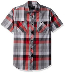 Zoo York Men's Short Sleeve Woven